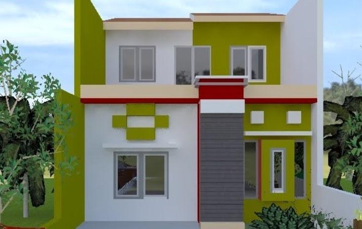 35 Kombinasi Warna Cat Rumah Yang Cocok Dengan Hijau Tosca ...
