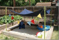 Garden ideas for kids on Pinterest