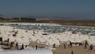 Camp de refugiats sirians a Turquia (Arxiu)