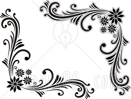 Free Design Black And White Pattern Border Download Free Clip Art