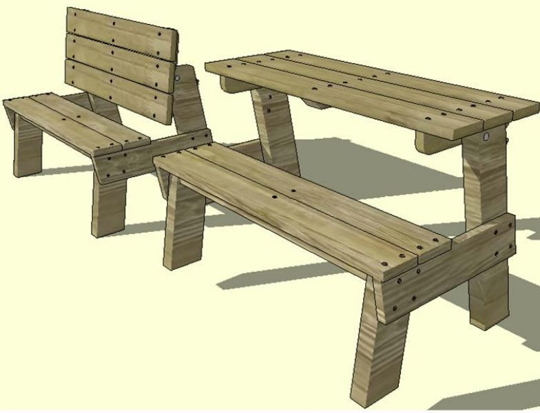 Prime Bonie Woodworking Here Plans For Bench That Turns Into Lamtechconsult Wood Chair Design Ideas Lamtechconsultcom