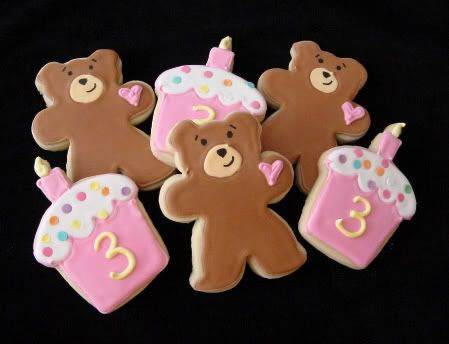 bears and cupcakes