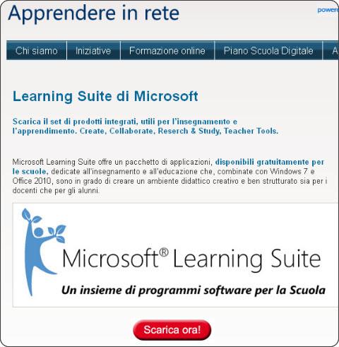 http://www.apprendereinrete.it/Risorse_online_per_la_scuola/Learning_Suite/Learning_Suite.kl#.UaeJJQwLwiM.twitter