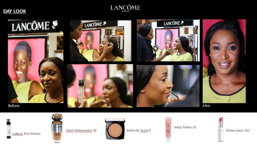 Lancôme 3 Axe with Labisi Folawiyo - BellaNaija - December2015011