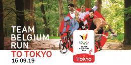 Team Belgium Run to Tokyo : Donnez un coup de pouce au Team Belgium le 15 septembre !