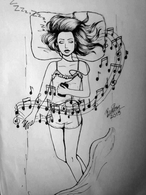 Music Textos Cama Música Mundo Dormir Pensamientos Sentimientos