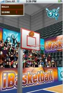 Image -- Screenshot iBasketball