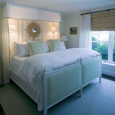 Sconces Above Bed Design Ideas, Pictures, Remodel, and Decor