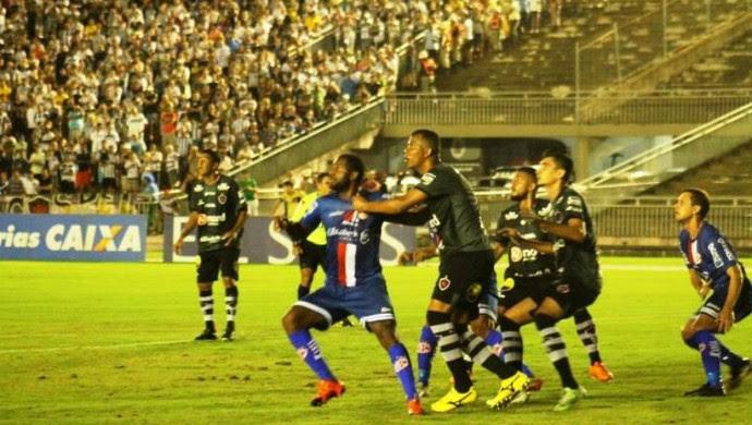 Botafogo-PB x América-RN  (Foto: Canindé Pereira/Divulgação)