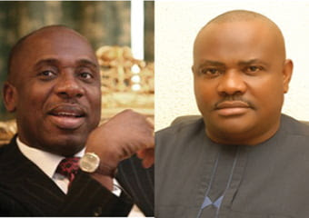 Amaechi reveals what Wike thinks about 'in his toilet'