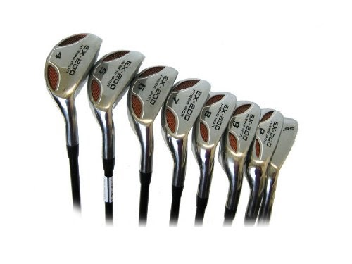 best powerbilt ex 200 hybrid iron set golf clubs rh 4 sw. Black Bedroom Furniture Sets. Home Design Ideas