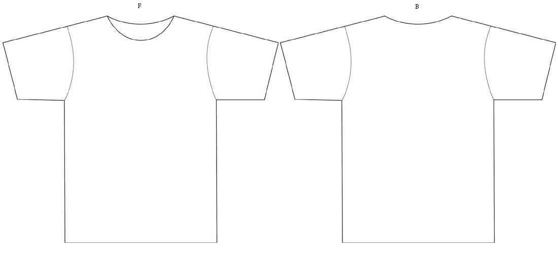 10 Ide Design Baju Tshirt Kosong Little One Scandles