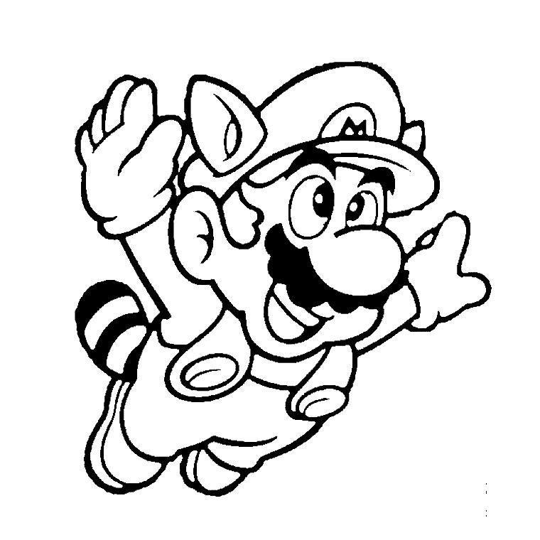 Super Mario Bros Dibujos Para Imprimir Y Colorear Lamina 8