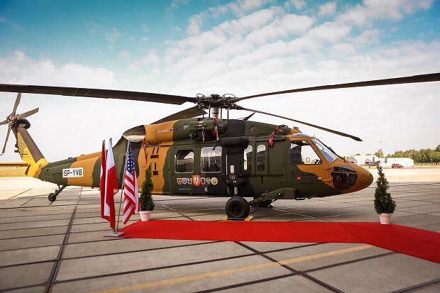 Prototyp śmigłowca Black Hawk z PZL Mielec. Na jego bazie Turcy będą realizować Turecki Program Helikopter Wielozadaniowego (TUHP)