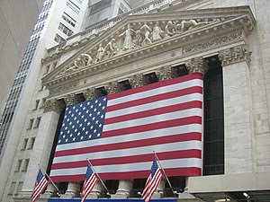 English: Wall Street, Manhattan, New York, USA...