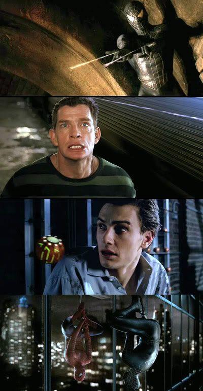 Spider-Man 3 teaser trailer clips