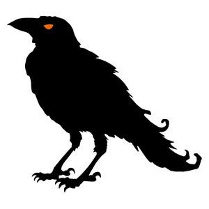 Download Silhouette Design Store - View Design #152023: crow silhouette