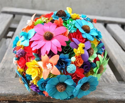 Rainbow Wedding Bouquets [14 Pic] ~ Awesome Pictures