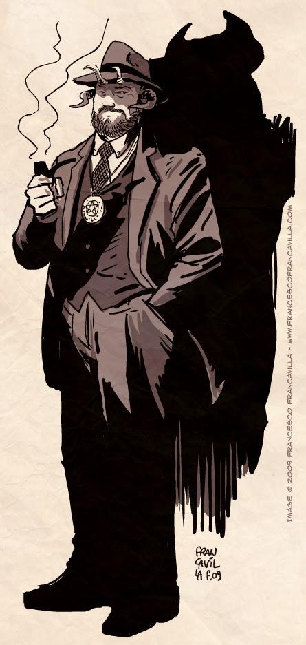 Beardy Hornsworthe, occult detective