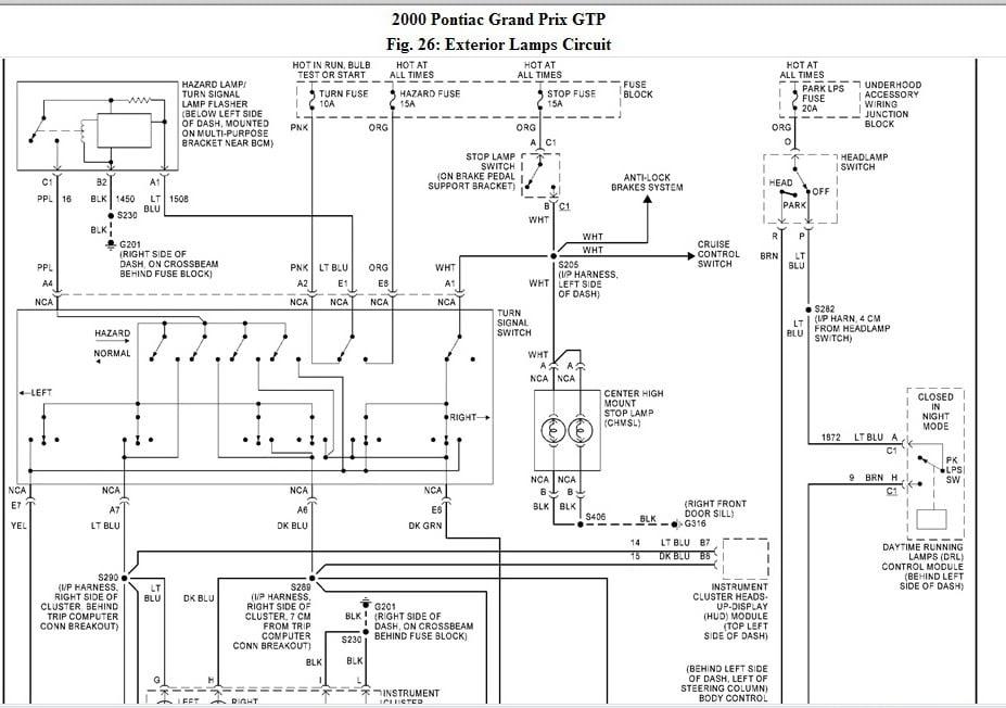 2001 Grand Am Wiring Diagram