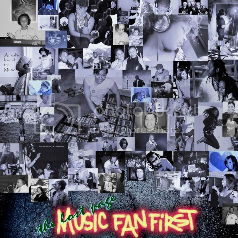 music fan first page