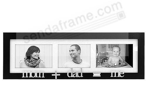 Momdadme Special Black Trio Wall Collage Frame Picture Frames