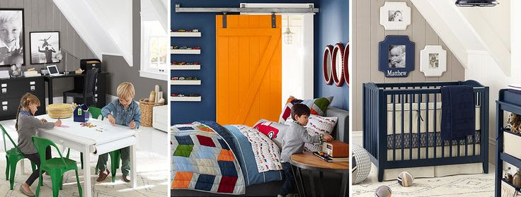 Family Room, Little Boy Room and Baby's Room | Fall Color Trend 2014 Inspiration | Belinda Lee Designs
