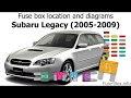 Download 2009 Subaru Fuse Box Diagram Pictures