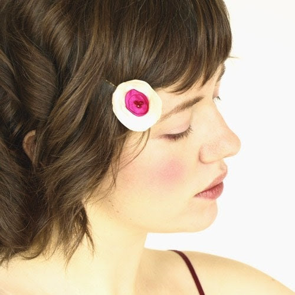 Pink Butterfly Mini Poppy Hair Pin