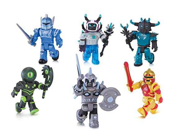 Champions Of Roblox 6 Figure Pack Color Champions Of - roblox night of the werewolf pack