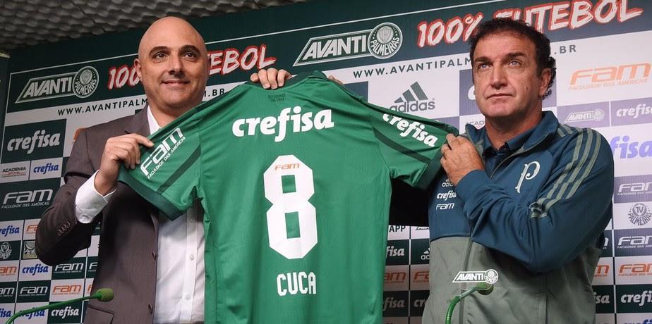 Cuca está de volta ao Palmeiras: