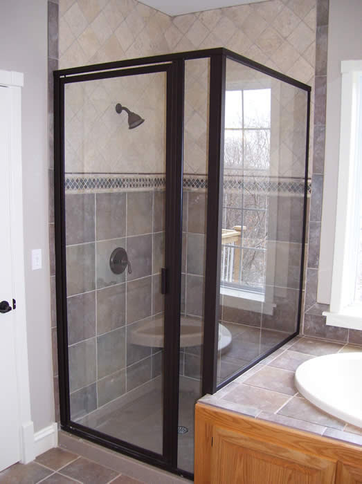 tub-and-shower | Custom Homes by Tompkins Construction