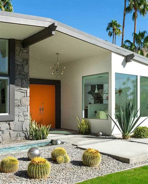 spotlight  palm springs style outdoor areas homes