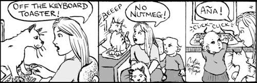 Home Spun comic strip #363