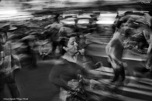 Maraton Santiago de Chile by Alejandro Bonilla