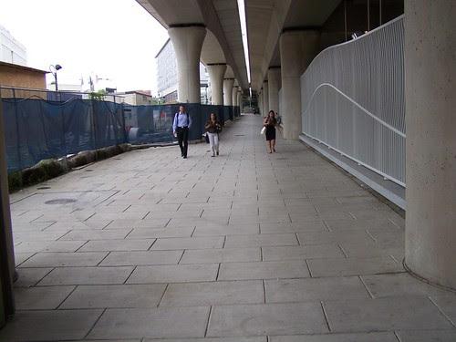 New York Avenue Metro Station Walkway