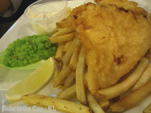 Sids Cod and Chips (RM32)