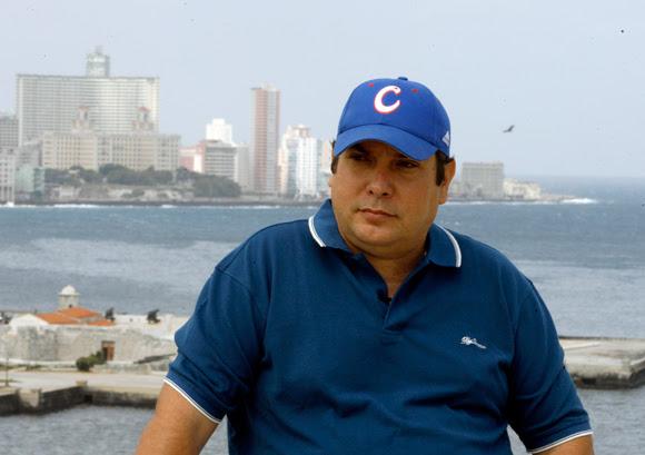 Raúl Capote, el agente Daniel durante la filmación del documental. Foto: Ismael Francisco