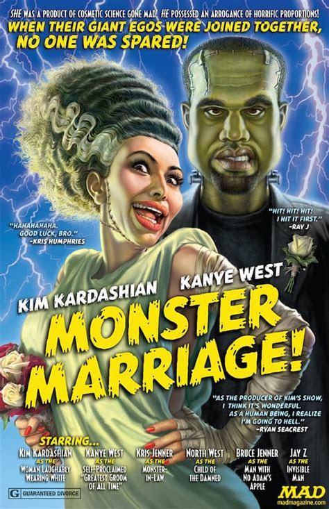 Mad Magazine Parodies Kimye Wedding, Unveils Bride of