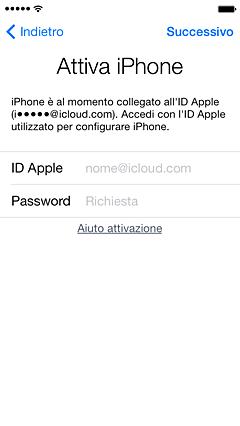 Scopri come rimuovere un dispositivo dall'ID Apple di un precedente proprietario per poterlo attivare e usare.