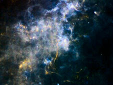 Space gas and dust as viewed from the Herschel Observatory