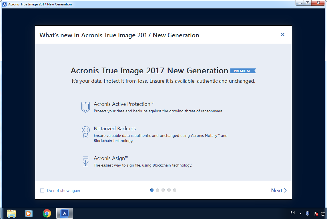 Acronis True Image 2017 New Generation Promo2day