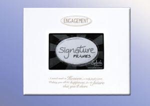 Engagement Signature Frame Splosh 1699 Autograph Frame