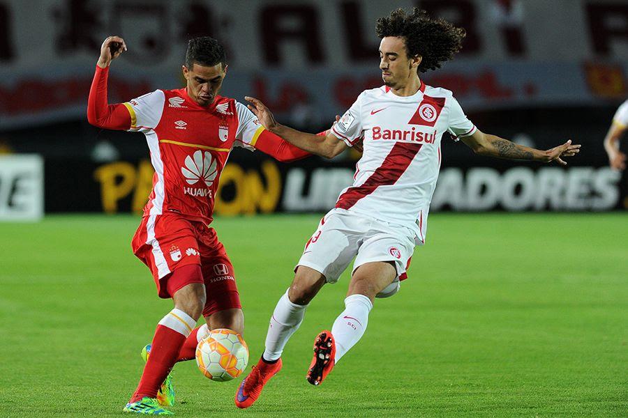 Internacional precisará vencer por 2 gols de diferença na volta - Guillermo Muñoz/AFP