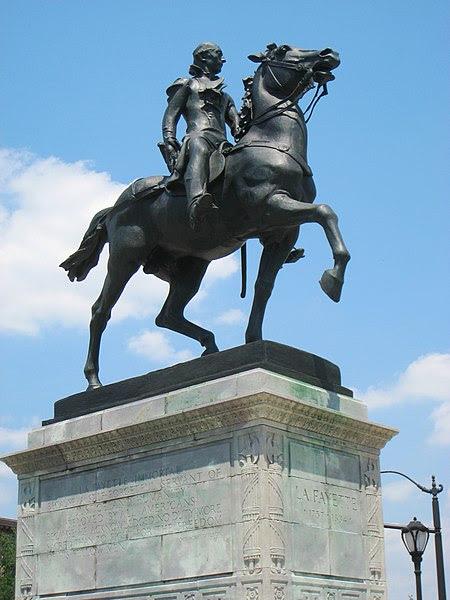 File:Lafayette statue, Mount Vernon Place, Baltimore, MD.jpg
