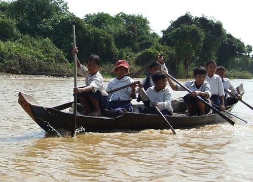 Life in Tonle Sap Lake VI