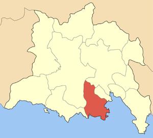 Locator map of Galaxidi municipality (Δήμος Γα...