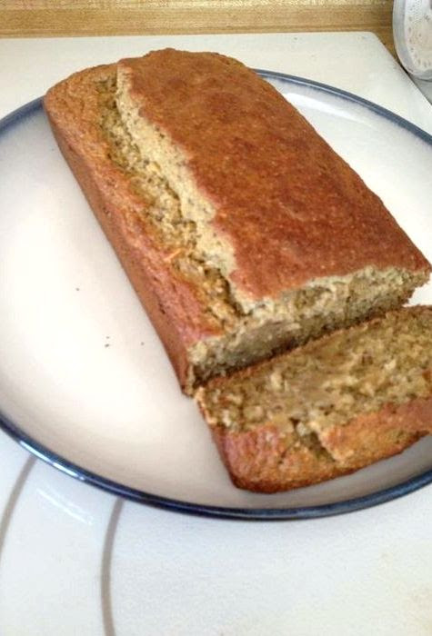 Sugar free low carb banana bread recipe