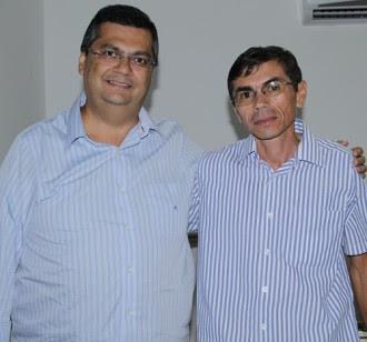 Ex-prefeito Antônio Bernardo e Flávio Dino