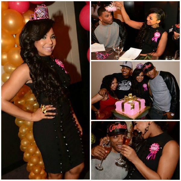 Ashanti's Birthday Dinner (10-13-12), Ashanti, Nelly, T.I.